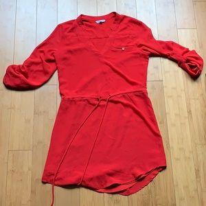 Naked Zebra Red Dress
